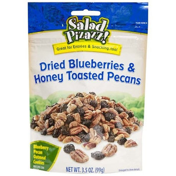 Salad Pizazz! Dried Blueberries & Honey Toasted Pecans, 3.5 oz