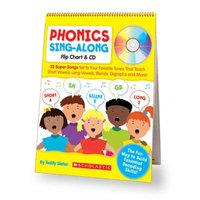 Scholastic. Inc. Scholastic 978-0-545-10435-7 Phonics Sing-Along Flip Chart & CD