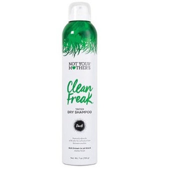 Not Your Mother's Clean Freak Tinted Dry Shampoo-Dark Brown to Jet Black 7oz, pack of 1