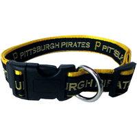 Pets First MLB Pittsburgh Pirates Pet Collar