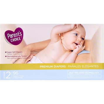Wal-mart Stores, Inc. Parent's Choice Premium Diapers, Size 2, 96 Diapers
