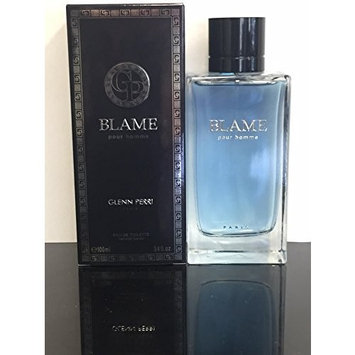 BLAME POUR HOMME BY GLENN PERRI COLOGNE FOR MEN 3.4 OZ / 100 ML EAU DE TOILETTE SPRAY