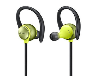 Samsung - Mobile Accessories Samsung Level Active Earset - Stereo - Green - Wireless - Bluetooth - Behind-the-neck, Over-the-ear, Earbud - Binaural - In-ear