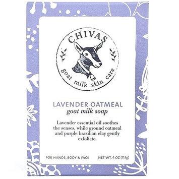 Chivas Lavender Oatmeal Goat Milk Soap - 4 oz