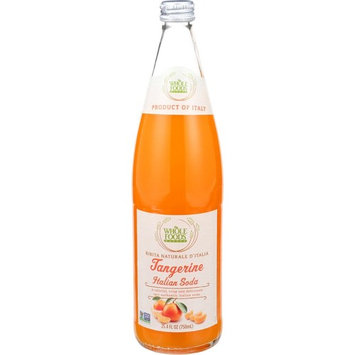 Whole Foods Market, Tangerine Italian Soda, 25.4 fl oz