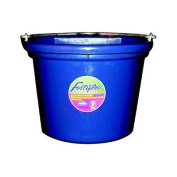 Fortex Industries Flat Back 8 qt. Bucket