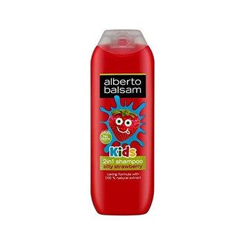 Alberto Balsam 2 in 1 Kids Strawberry Shampoo & Conditioner 250ml - Pack of 2