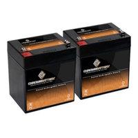 12V 4.6AH SLA Battery replaces npx-25 ps-1242 pxl12050 gp1250 wp4-12 - 2PK - S00079-2PK-00004
