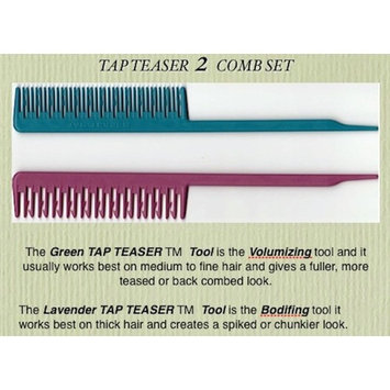Tap Teaser Styling Comb with Booklet