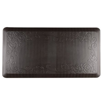 Neway International Inc Cook N Home Anti Fatigue Premium Comfort Kitchen Floor Mat, 39 by 20, Brown
