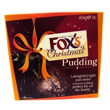 Foxs Christmas Pudding Large 454g