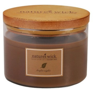 18oz Jar Candle Bonfire Nights - Nature's Wick