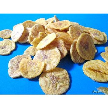 Iberia Garlic Plantain Chips (Pack of 24) 100% Natural, No Preservatives, No Artificial Flavors & Color, 0 Trans Fat