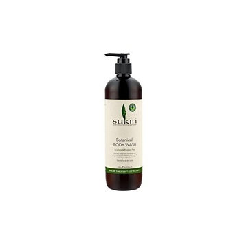 Sukin Botanical Body Wash (500ml) (Pack of 4)