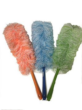 Tvtime Direct Chenille Microfiber Yarn Duster (Assorted Colors)*3PK