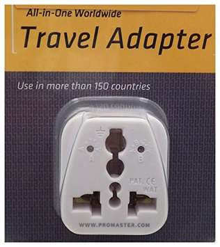 Promaster All-In-One Worldwide AC Travel Adapter