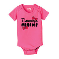 Mommy's Mini Me Cute Baby One Piece Infant Bodysuit Mother's Day