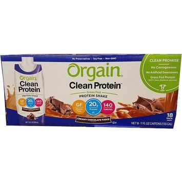 Orgain Clean Protein Shake Chocolate, 198 Fluid Ounce