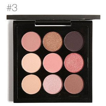 Eyeshadow Palette Set 9 Colors Bright Eye Makeup Cosmetic Long Lasting Gift Kit 5 Types