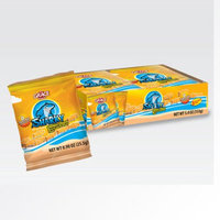 Xel-ha,llc Grace Sharky Cheddar Cheese Cookies 1 oz (6 Cookies) - Galletas de queso (Pack of 5)