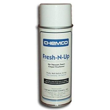 Carpet Cleaner - Fresh N Up by Chemco - Industrial Strength Carpet Cleaner - 12 Cans/Case
