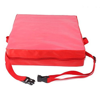 SODIAL(R) Children Artificial leather Laptop Lunch Children 's throwing Chair cushions Chair red