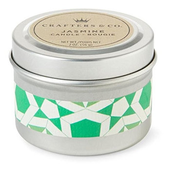 Crafters & Co. - 2 oz Travel Candle - Jasmine