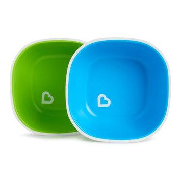 Munchkin Splash Toddler Bowls, 2 Pack Blue/Green
