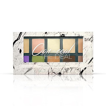 Measurable Difference Conceal The Deal Cream Concealer/Contour Palette, Additional Shades Included