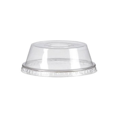 Packnwood 210GKLSMOOD Grease Resistant Dome Lid Clear