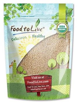 Food To Live ® Organic Royal White Quinoa (Raw, Whole Grain, Non-GMO, Bulk) (3 Pounds)