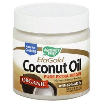 Nature's Way Organic Extra Virgin Coconut Oil- Pure, Cold-pressed, Organic, Non-GMO, Gluten-free- 16 Ounce [1]