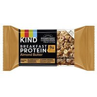 KIND Breakfast Protein Bars, Almond Butter, Gluten Free, Non GMO, 1.76oz, 32 Count [Almond Butter Protein]