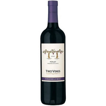 Columbia Crest Winery Columbia Crest Two Vines Merlot Wine, 750 mL