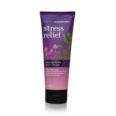 Bath Body Works Aromatherapy Stress Relief Eucalyptus Tea 8.0 oz Body Cream [Eucalyptus Tea]