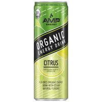 AMP Organic Citrus - 12 fl oz Can