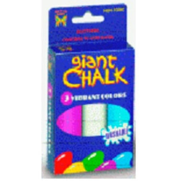 Bulk Buys 3ct. Giant Chalk - Case of 144