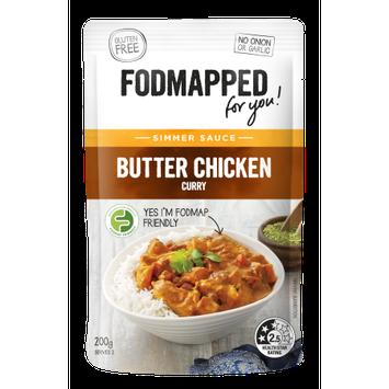 Fodmapped Foods Llc Butter Chicken Curry Simmer Sauce
