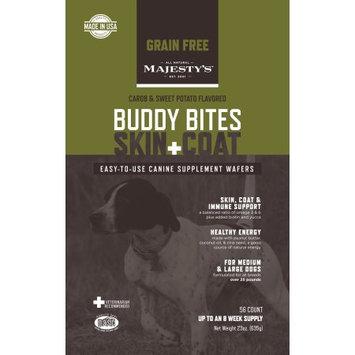 Majesty's Buddy Bites Skin & Coat Grain-Free - 56 count