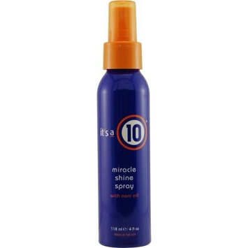 ITS A 10 by It's a 10 MIRACLE SHINE SPRAY WITH NONI OIL 4 OZ ( Package Of 5 )