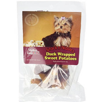 Any Pet International Alpha Dog Series Duck Wrapped Sweet Potato - 4oz