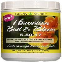 GROW MORE HAWAIIAN BUD 5-50-17 6/3LB