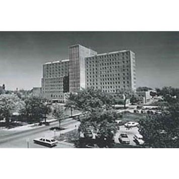 Framed Art For Your Wall Naval Regional Medical Center / Naval Hospital / Naval Health Clinic Great Lakes 19602010 10x13 Frame