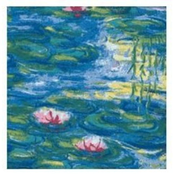 Cocktail Napkins Or Beverage Napkin Waterlilies 20 Count