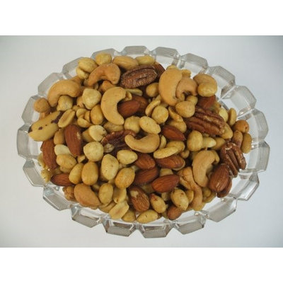 Knokes Nuts And More BRIDGE MIXED NUTS WITH PEANUTS - 5 POUND BOX