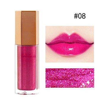 5 Colors Glossy Lip-Gloss Lipstick Lip Cream Lipsticks Set for Girls Women Waterproof Long-Lasting Moisturizing Makeup Lipsticks,Nude and Natural Color
