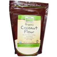 Now Foods, Organic Coconut Flour, 16 oz(pack of 6)