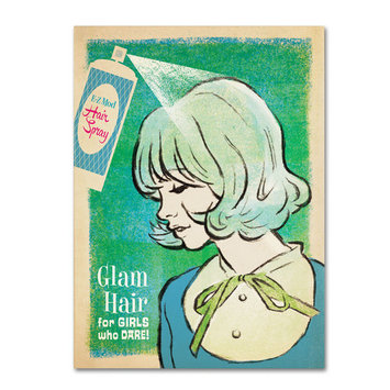 Trademark Global Anderson Design Group 'Mod Hairspray' Canvas Art