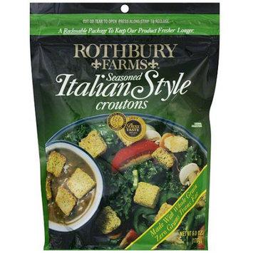 Rothbury Farms Seasoned Italian Style Croutons, 5 oz (Pack of 12)
