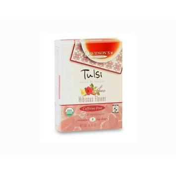 Davidson's Tea Davidson Organic Tea 2256 Tulsi Hibiscus Tea Box of 8